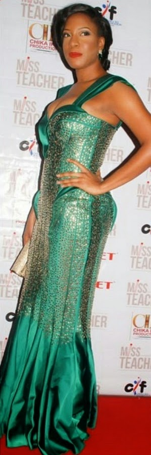 chika ike dress
