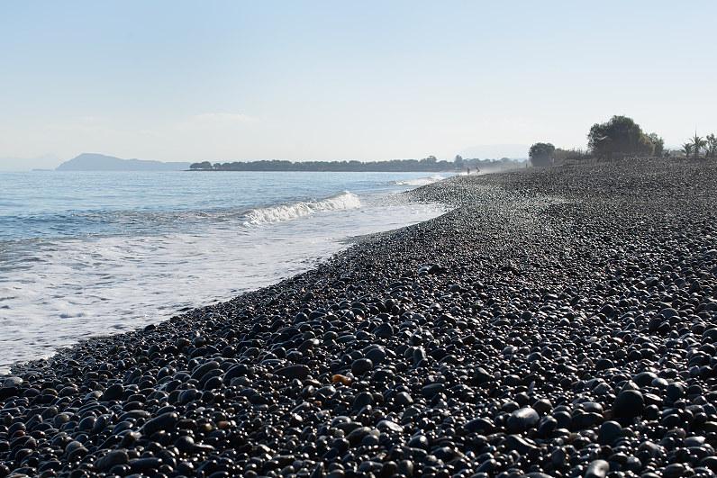 Paplūdimys kretoje Graikijoje
