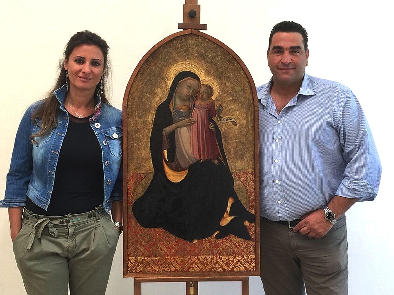 CAPOLAVORO RESTAURATO di LORENZO MONACO IN MOSTRA ALLEXPO