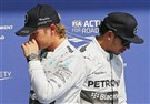 Bad day for Mercedes ad Lewis Hamilton