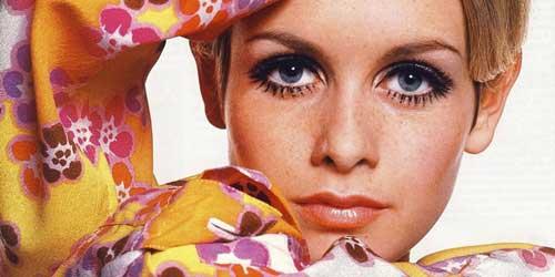 Imagen de la modelo actriz y cantante Twiggy