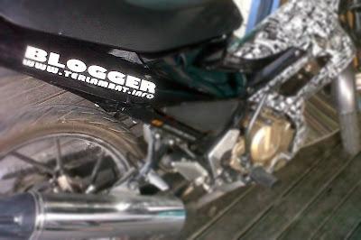 Bikin Stiker Sepeda Motor di Banjarmasin