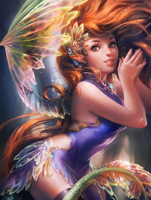 IFX Fairy,digital art fairy,digital art girl