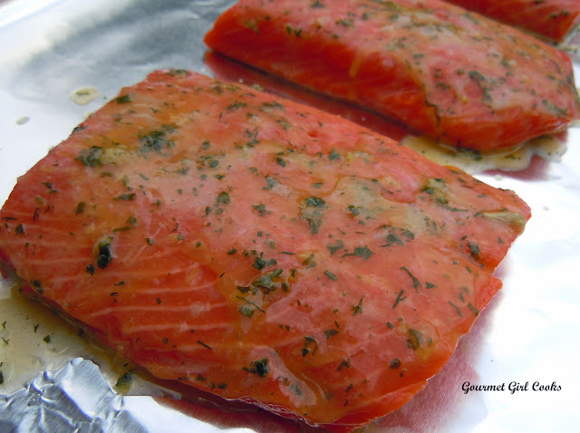 how to cook wild sockeye salmon in the oven