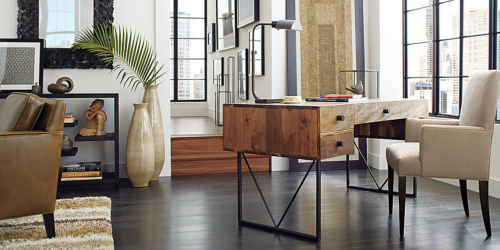 Crate And Barrel Office Livingwithartjpg R