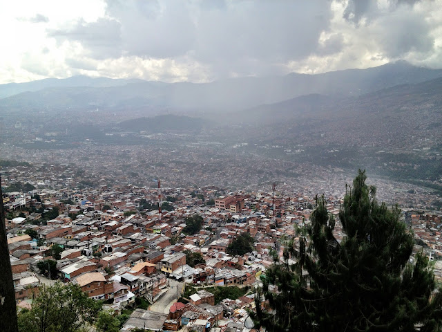 View of Medellin from Santa Domingo