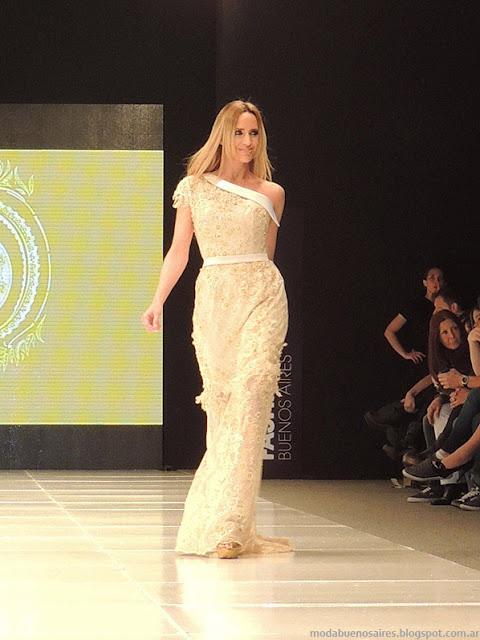 Moda Argentina Baam 39 Claudio Cosano vestidos 2014.
