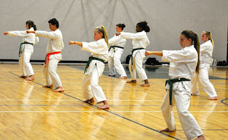 Martial Arts at Cedar Ridge Academy Therapeutic Boarding School with Karate Therapy