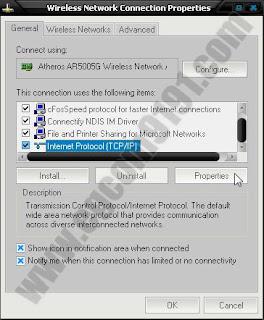 Berbagi Koneksi Internet Modem USB Via WiFi