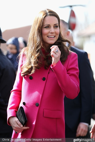 Catherine, Duchess of Cambridge at the XLP Mobile recording Studio