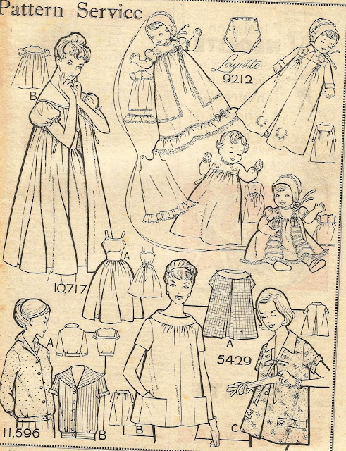 1950s fashion patterns