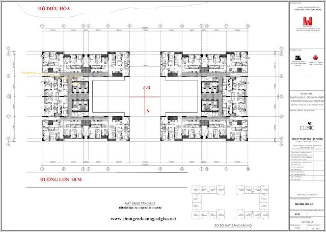 Chung Cư Lạc Hồng Complex N01T5 Ngoại Giao Đoàn