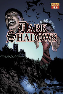 Cover of Dark Shadows #1 by Aaron Campbell from Dynamite Entertainment