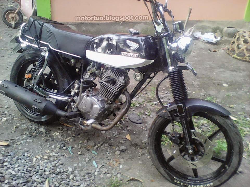Modifikasi Honda Gl 100 Honda Cb Wannabe Tak Sempurna Motor Tuo