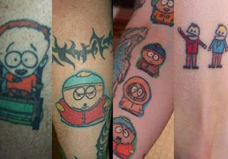 South Park Tattoos