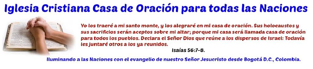 Iglesia Cristiana Casa de Oración para las naciones