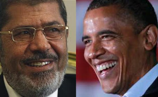 Presiden Mursi Tolak Permintaan Obama Agar Pejuang Palestina Hentikan Serangan Balasan [ www.BlogApaAja.com ]
