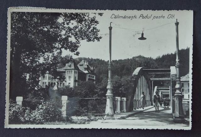 Podul peste Olt din Calimanesti