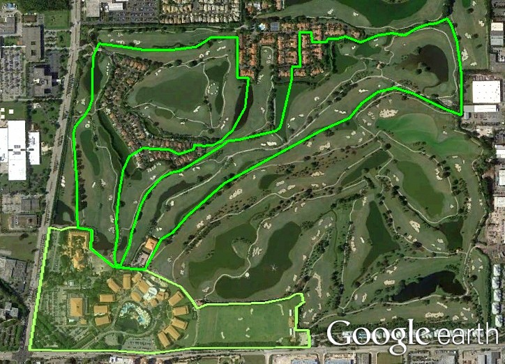 The Florida Golf Course Seeker: Trump National Doral Golf ...
