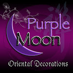 Purple Moon Oriental Decorations/Snake Year