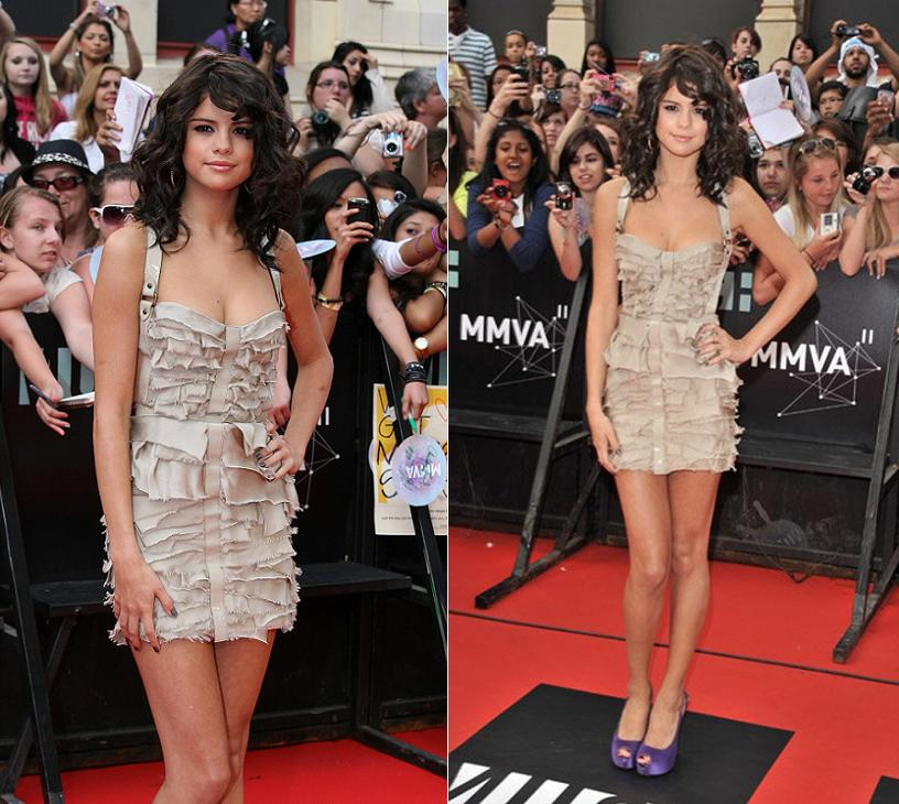 elena Gomez at the 2011 MuchMusic Video Awards at the MuchMusic HQ