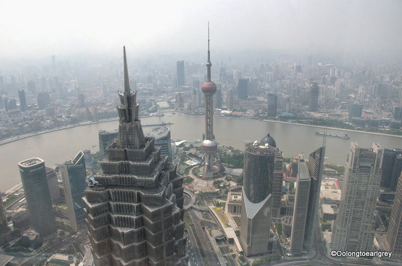 Shanghai Skyline from 'Bottle Opener'