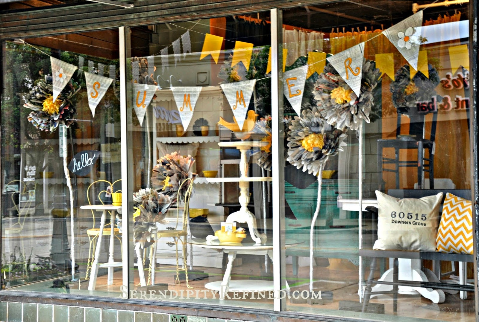 Serendipity refined blog happy new year a look back and for Show window designs