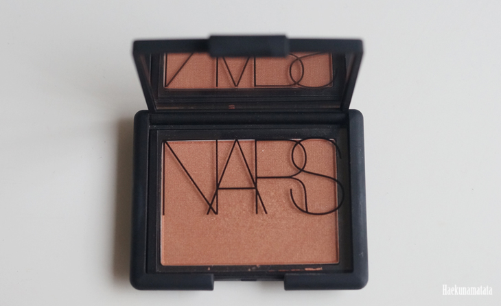 NARS Luster blush review2