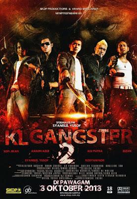 Filem KL Gangster 2 Cecah RM 3.3 Juta Lima Hari Tayangan