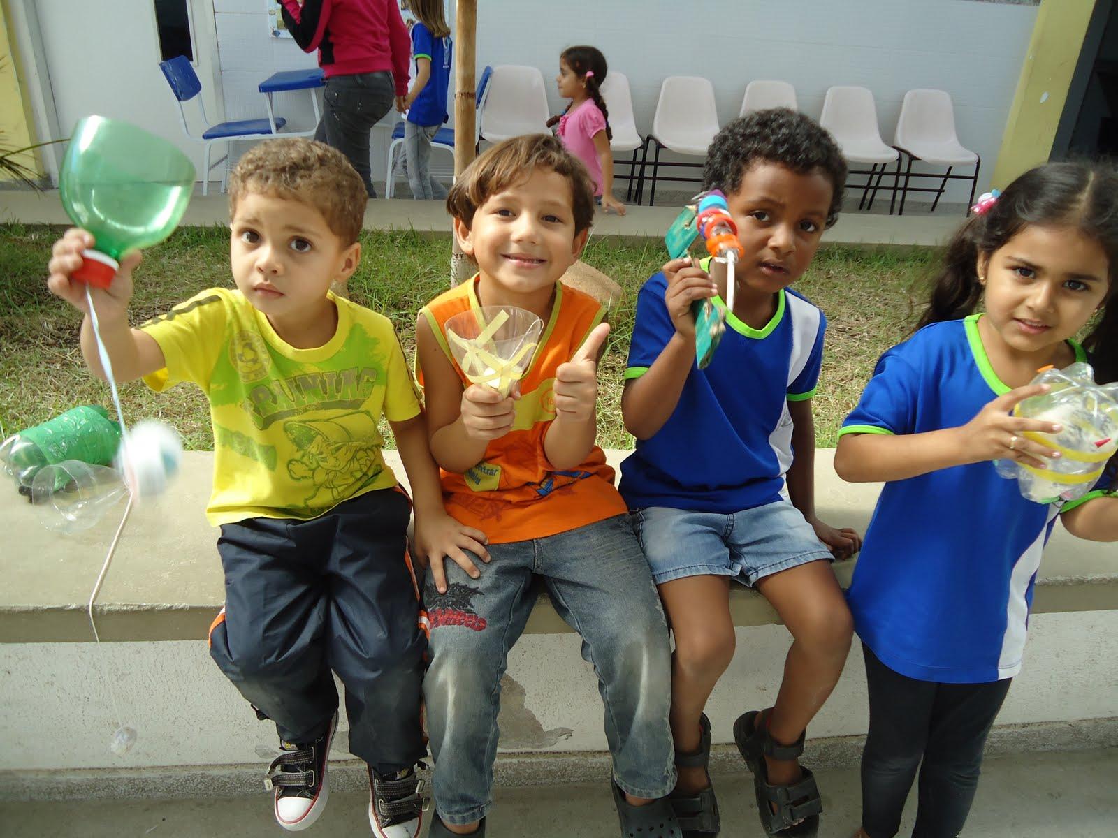 : Alunos da Educação Infantil desenvolvem Projeto de Reciclagem #143178 1600 1200
