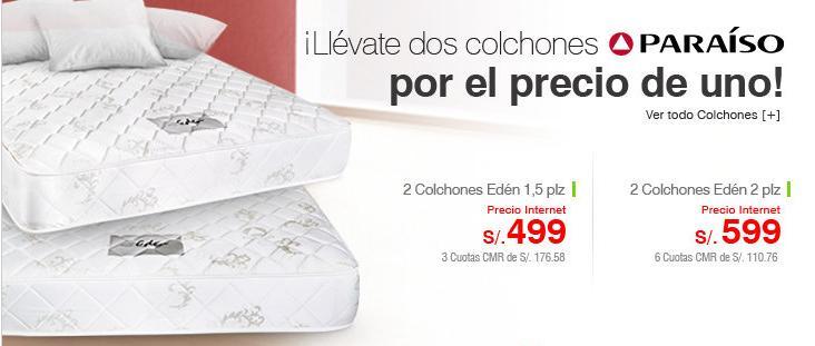Ofertas 2x1 en colchones saga falabella enero 2013 ofertas del dia peru - Precios de colchones hinchables ...