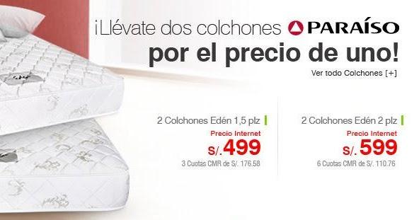 Ofertas 2x1 en colchones saga falabella enero 2013 for Saga falabella ofertas