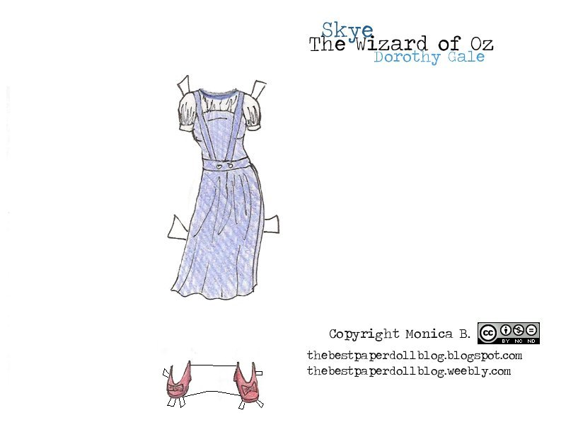 Wizard of Oz Dress for Skye title=