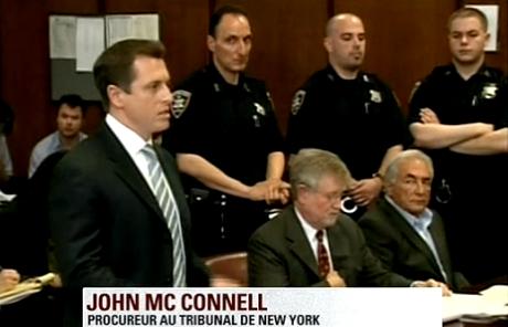 Vidéo de l'audience de DSK hier au tribunal