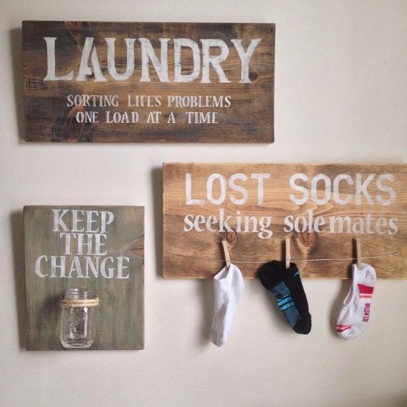 laundry wall