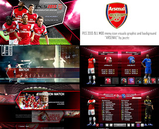 All Mods Graphic Arsenal PES 2013