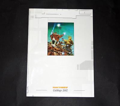 Portada del Catálogo 2002