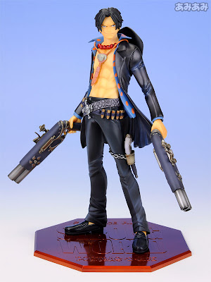 Excellent Model Portrait.Of.Pirates ONE PIECE STRONG EDITION series - Portgas D. Ace