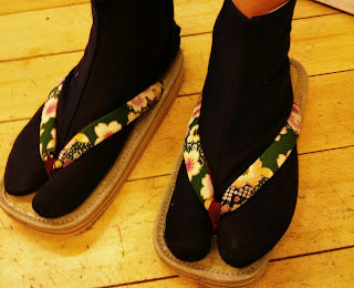 Japanese Socks, Tabi and Japanese Sandals from Kimono House NY