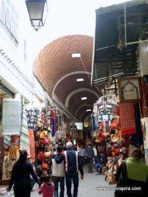 Calles Tiendas Medina Tunez