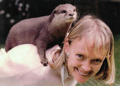 Sophie Neville, the girl with a tame otter