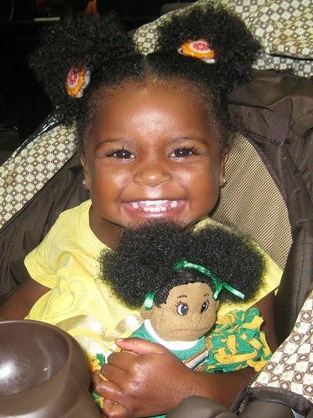 Photo bébé fille métisse