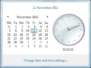 11:11:11 on 11/11/11