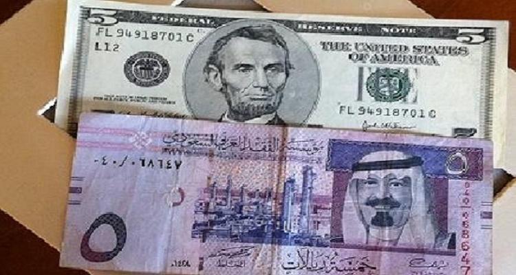 سعر الدولار في السعودية اليوم الجمعة 22-1-2016