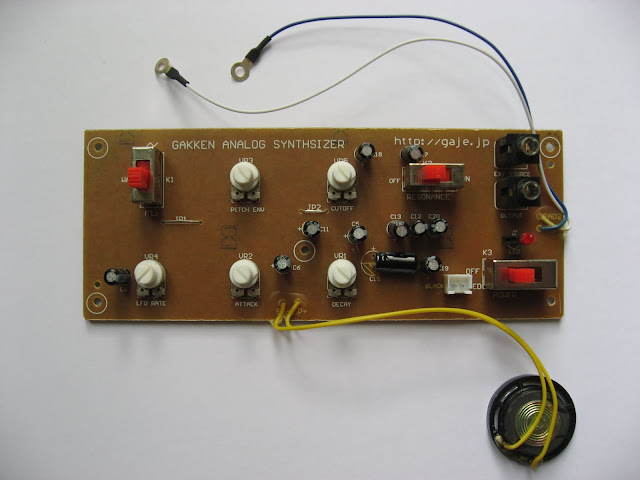 Gakken SX-150 circuit board top
