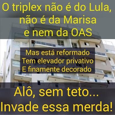 LULA E MARISA: UM CASAL TRIPLEX!!!
