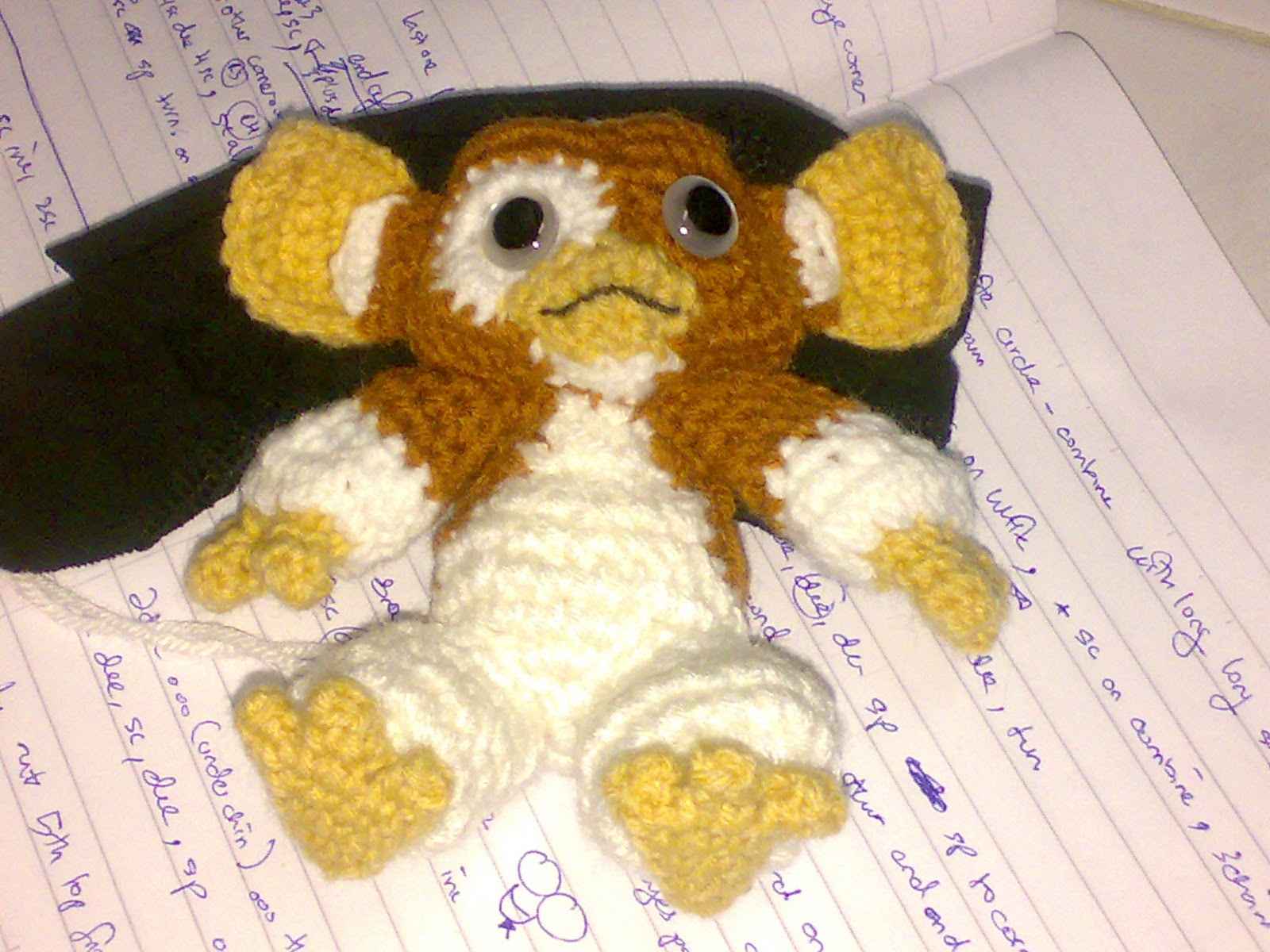Free Naruto Amigurumi Pattern : My skills guide: gizmo amigurumi another missing project