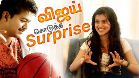 Thupakki Vijay's sister Sanjana Sarathy interview