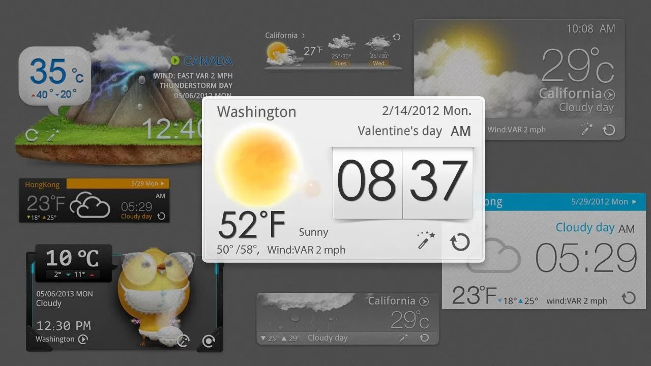 GO Weather Forecast &amp Widgets Premium v4.16