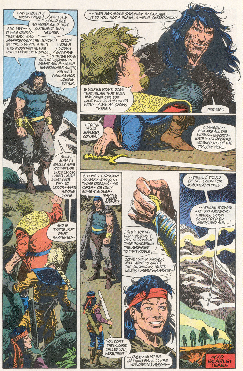 Conan the Barbarian (1970) Issue #260 #272 - English 23
